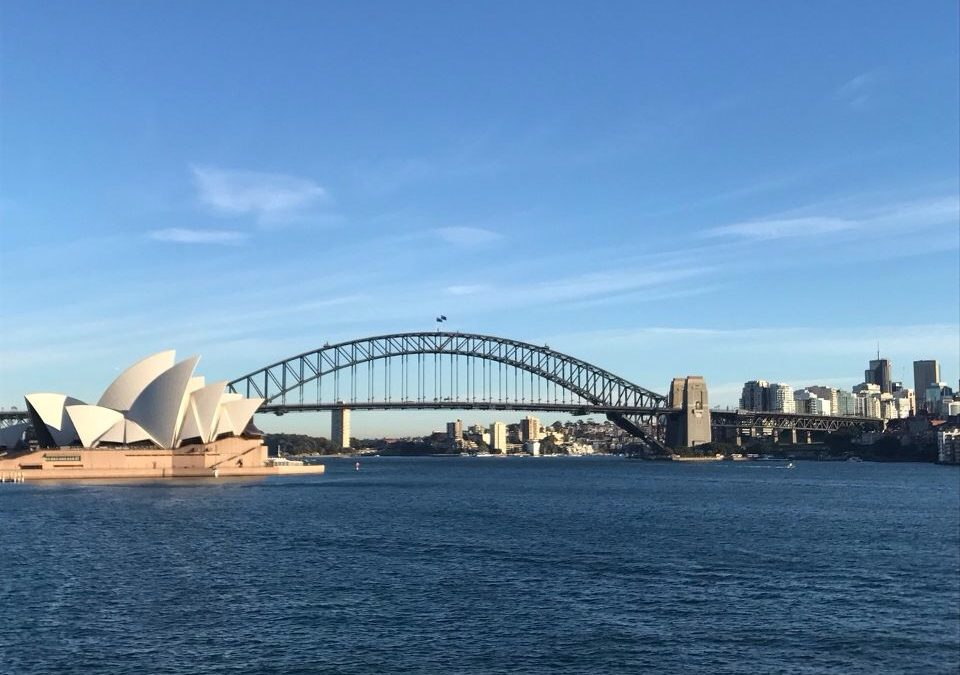1 Day Walking Itinerary Around Sydney Harbour