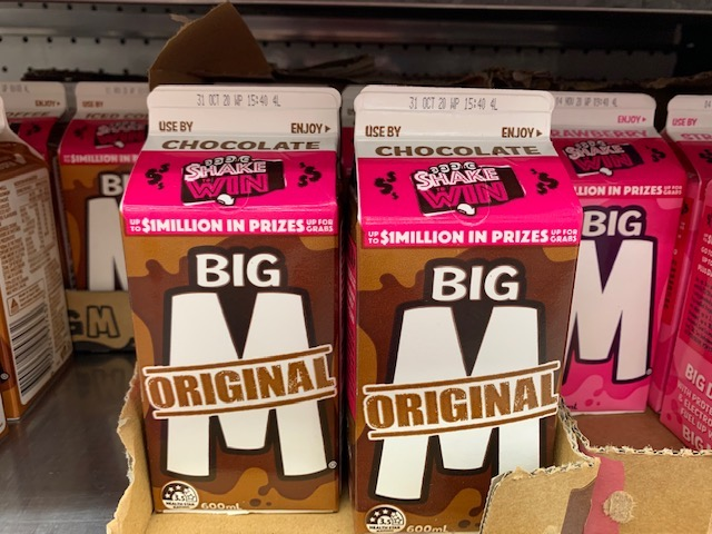 Chocolate Milk In Cardboard Containers