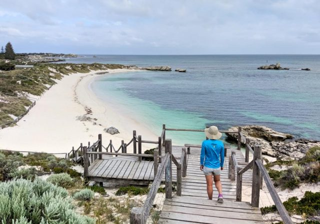 Rottnest Island Is An Island Off WA And Is Home To Sandy White Beaches And Quokka.