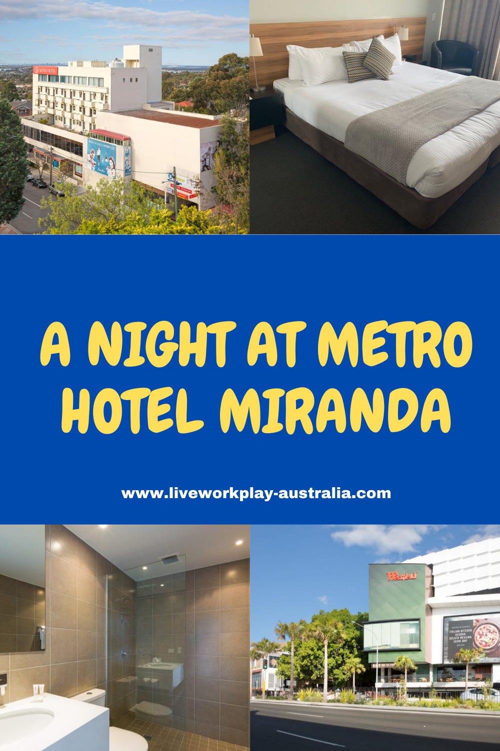 A Night At Metro Hotel Miranda Pin