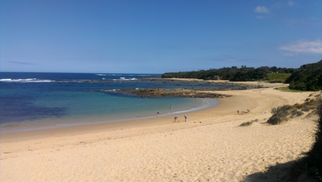 Inverloch Beaches Are Pristine With White Sands and Clear Blue Ocean.