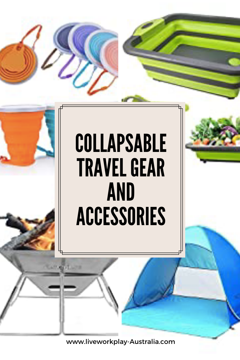 Collapsable Travel Gear PIN