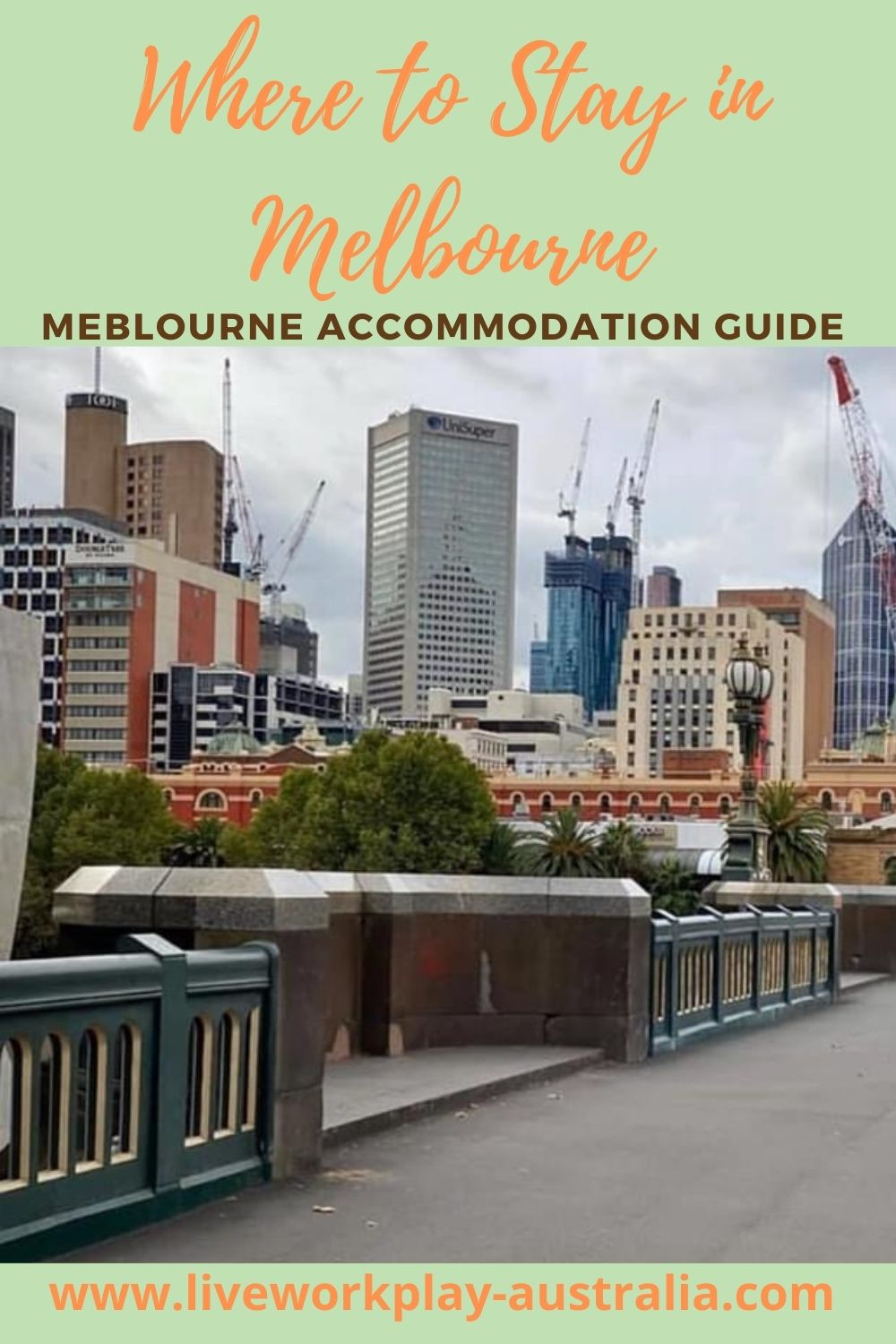 Melbourne Accommodation Pin. Melbourne City Has Lots Of Accommodation Options.