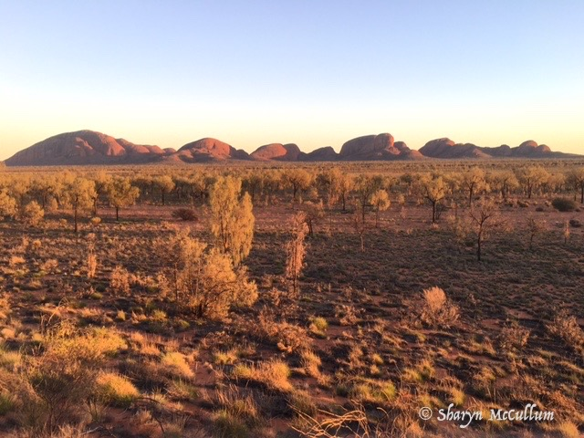 Kata Tjuta Formerly The Olgas Are 36 Domes About 58Kms From Uluru. Walk Through The Domes.